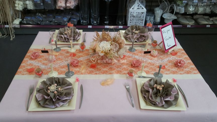 Table Corail