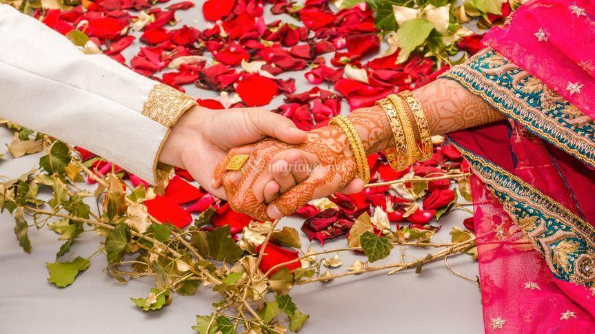 Mariage indide Karim et Ashika