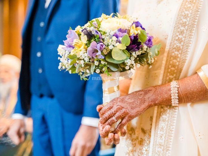 Mariage civil de Mohammad et A