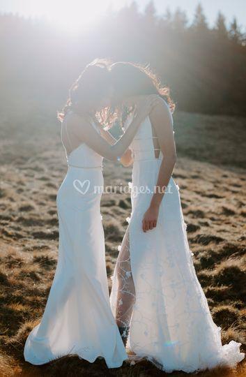 Robe de mariée Plumeria