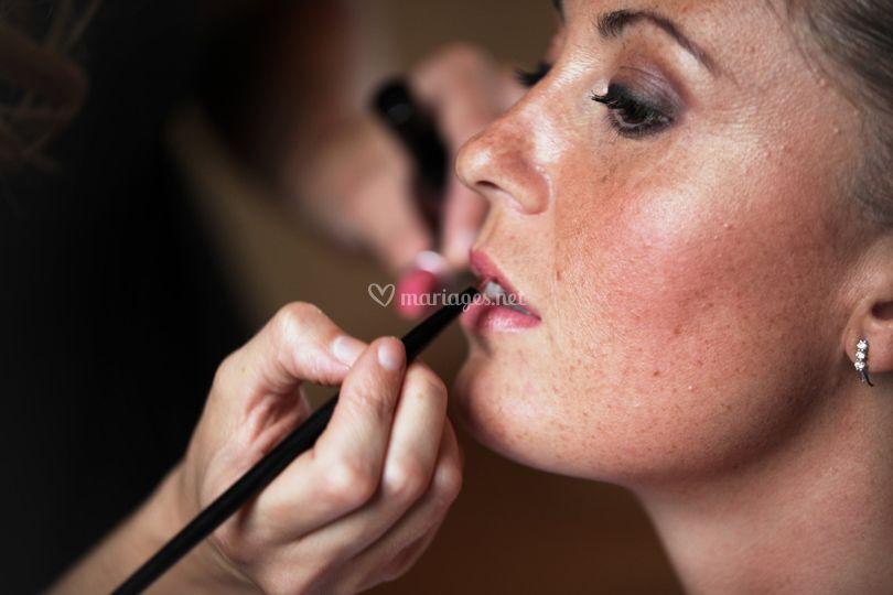 Maquillage mariée Rouen