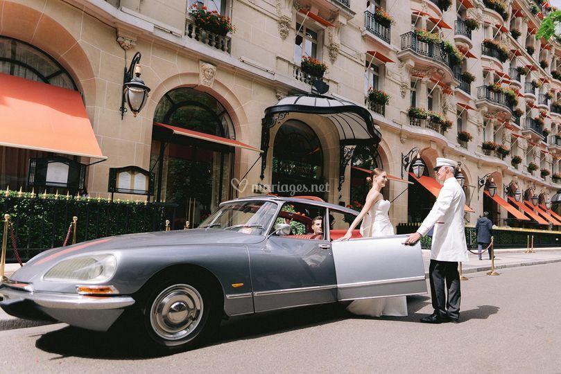 Mariage au Plaza Athénée Paris