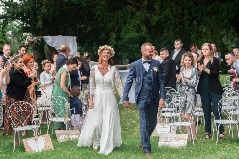Ceremonie mariage PhotoW