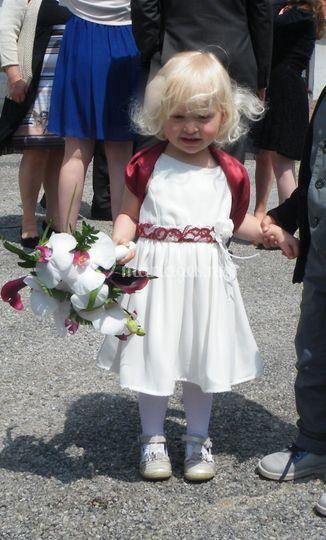 Robe de fille d 'honneur