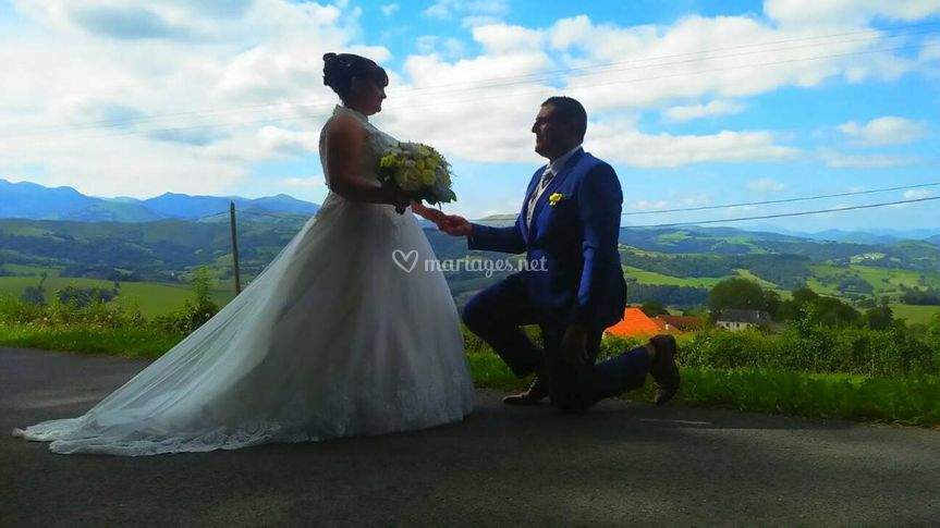 Mariage margaret et sebastien
