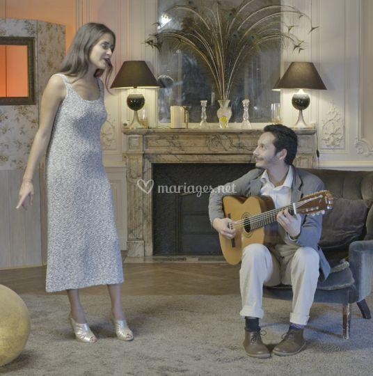 Le Duo Guitare + Voix