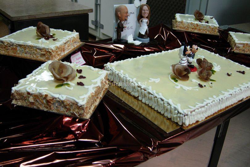 Présentation gâteaux