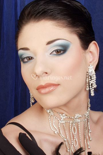 Jess Make Up - en bleu...