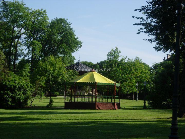 Kiosque parc