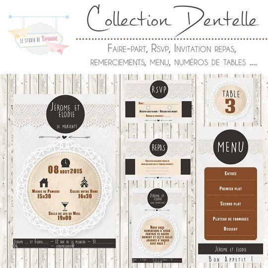 "Collection ""Dentelle"""