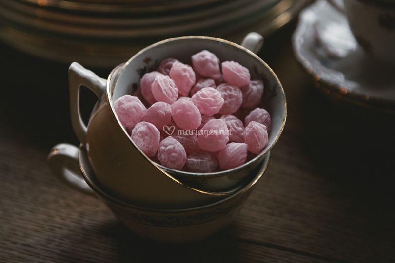 Bonbons rose