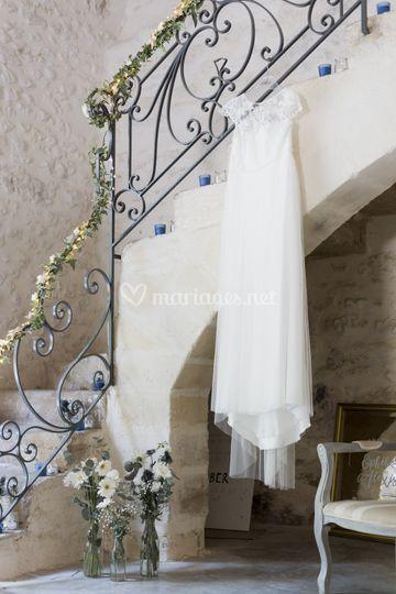Mise en scène de la robe