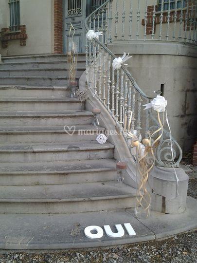 Entrée de la mairie