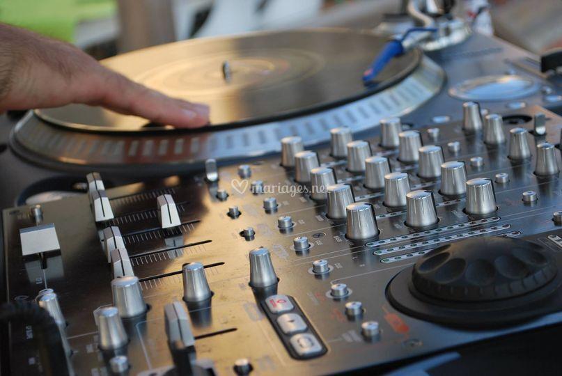 Mix au vinyle