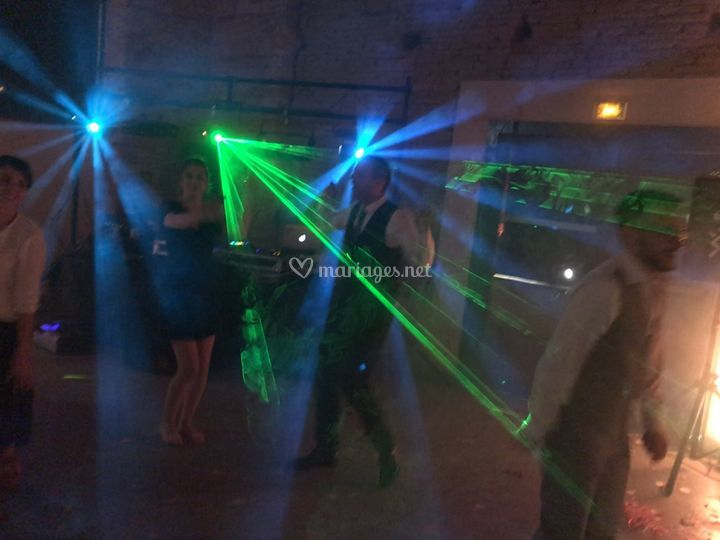 Tornades et laser
