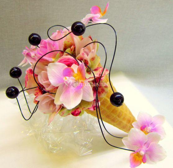 Fore bouquet cornet