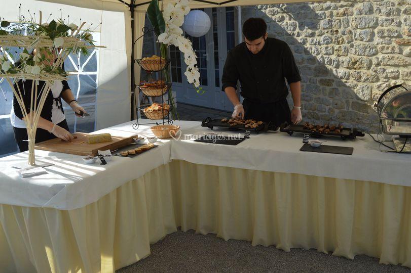 Atelier foie gras et plancha
