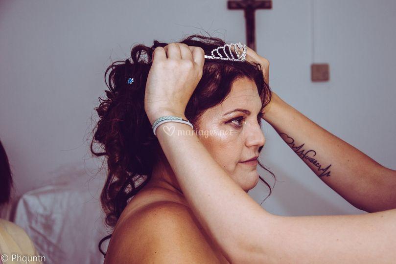 La couronne de princesse