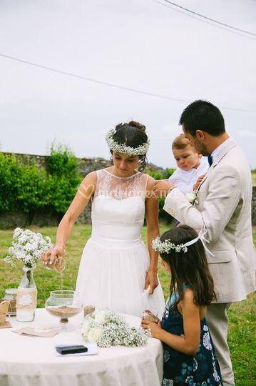 Deux très beaux mariés