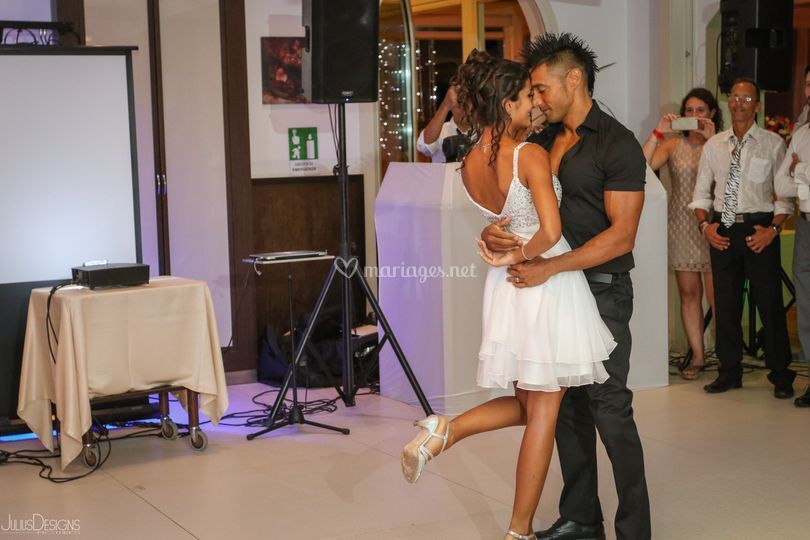 Danse Elodie et Kévin