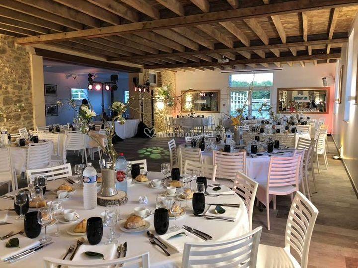 Salle repas décor et lights