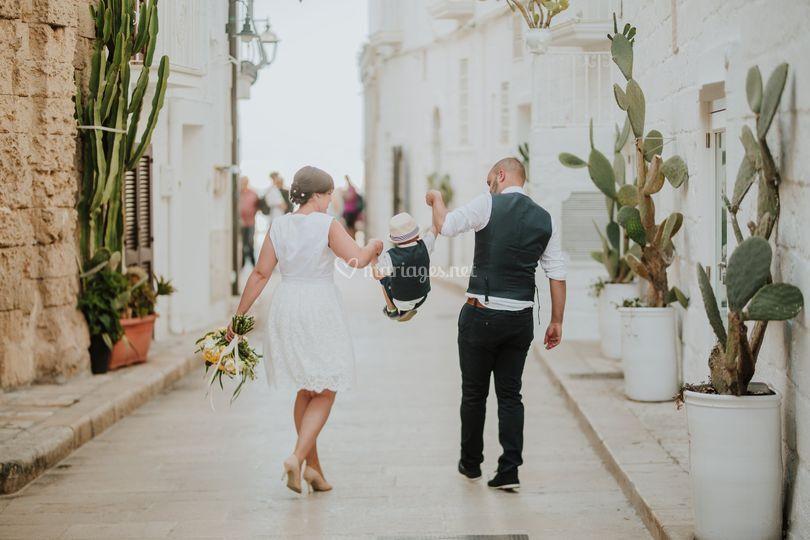 Mariés en Italie les Pouilles