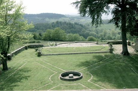 Jardin réception mariage