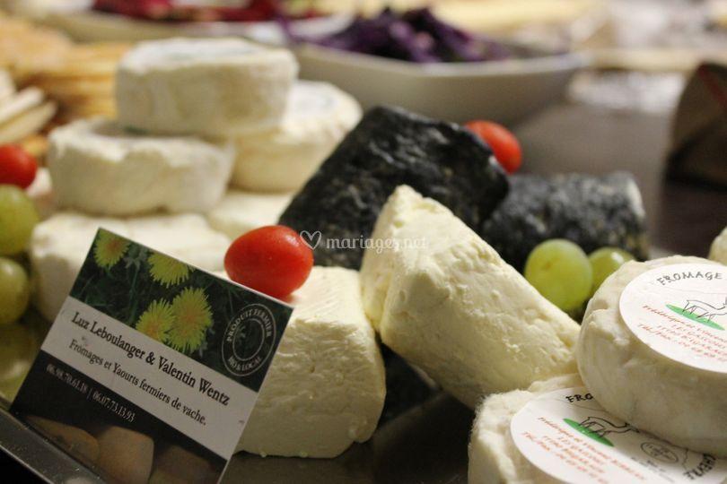 Plateau de fromages de région