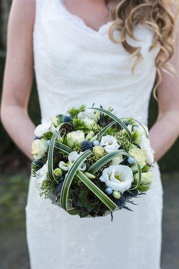 Bouquet chic et sobre