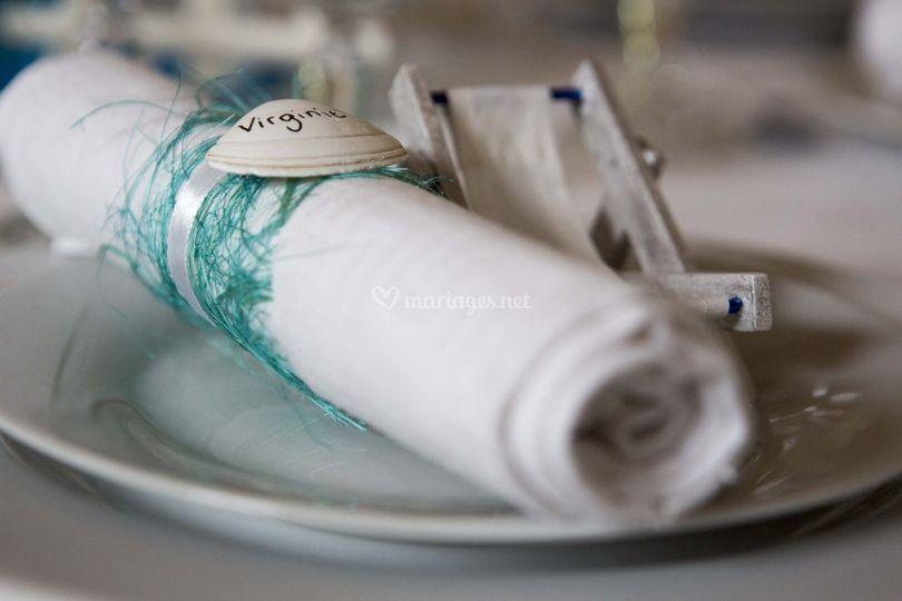 Lien de serviette personnalisé