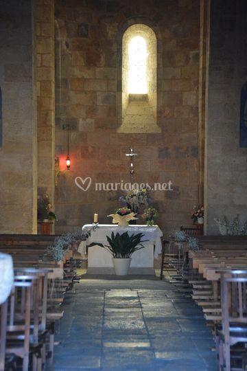 Eglise romane d'Aubiac