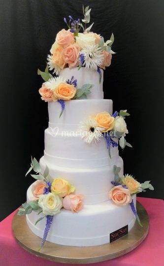 Wedding cake le Clementine