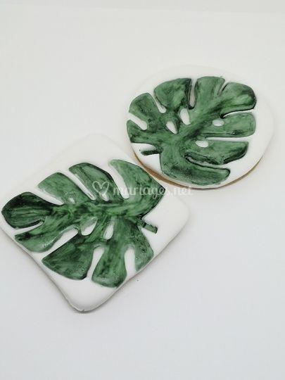 Biscuits feuilles