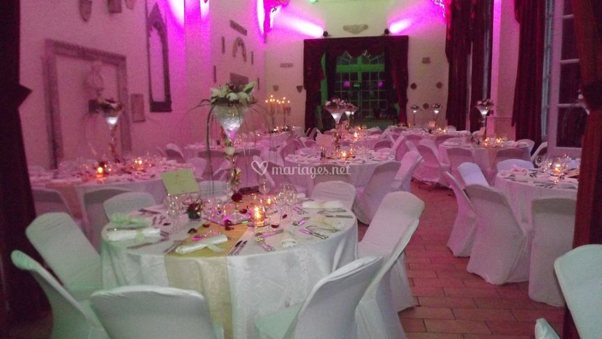 Mariage or et rouge