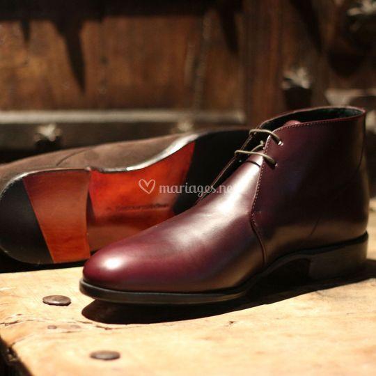 Chaussure d'Élégance Tailor.