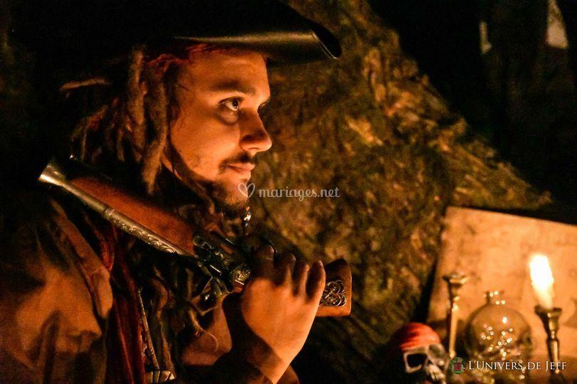 La légende des pirates