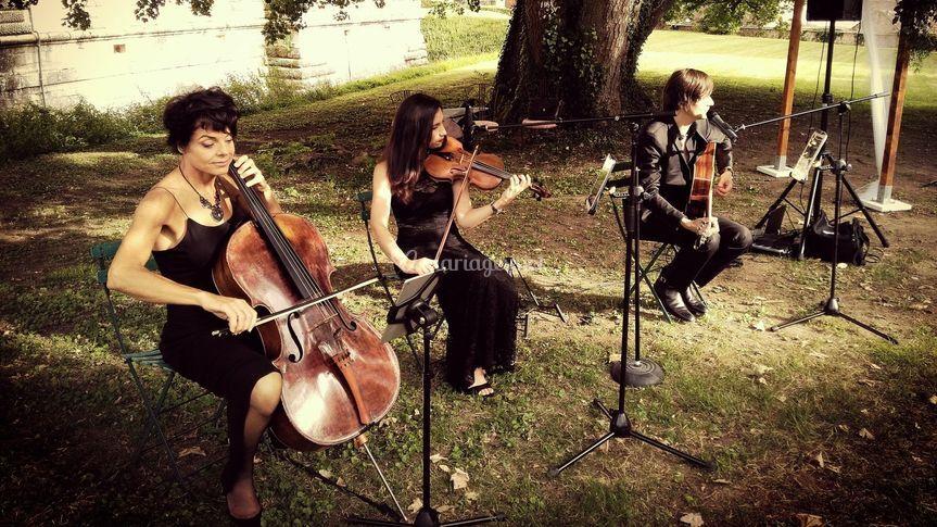 Trio à cordes Smart Music.