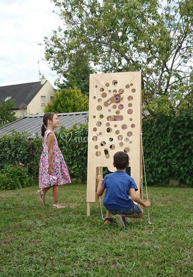 Kid&Loc mur gruyère