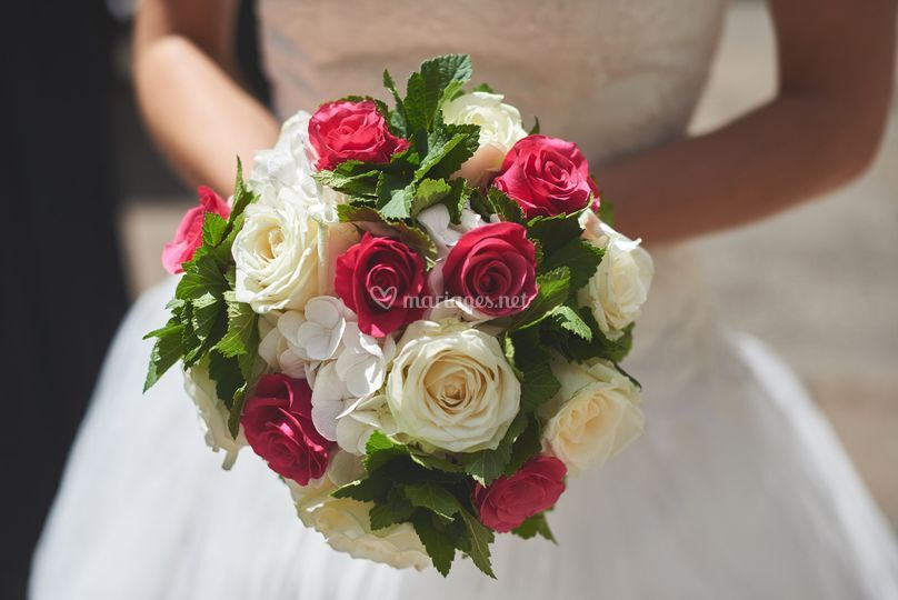 Bouquet de la marié sur Borrego Matthieu Photographe