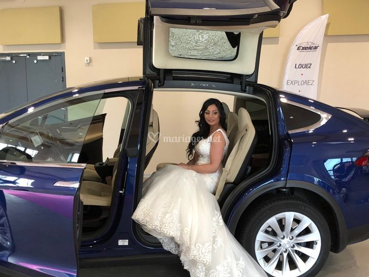 Idéal pour la robe de mariée