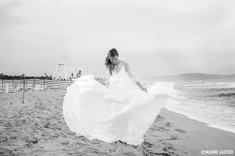 Mariage Emilie / Saint-Tropez sur Maxime Gautier Photographe