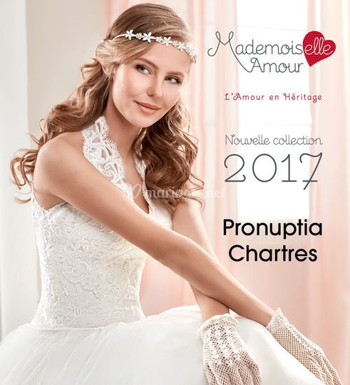 collection mademoiselle sur pronuptia chartres - Point Mariage Chartres