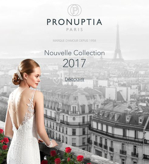 collection pronuptia sur pronuptia chartres - Point Mariage Chartres