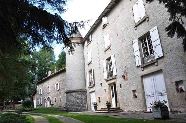 le chteau sur chteau du breuil de doue - Chateau Du Breuil Mariage