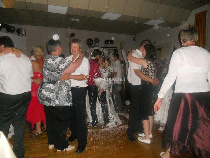Danser toute la nuit