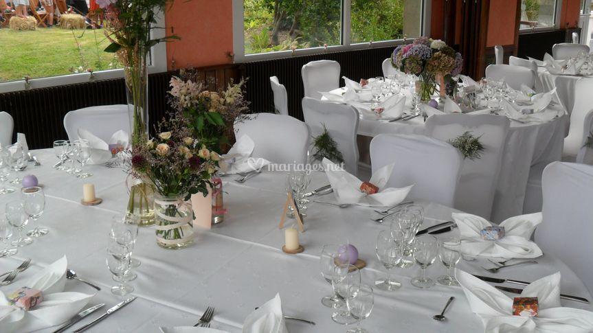 Réception au Moulin du Vey