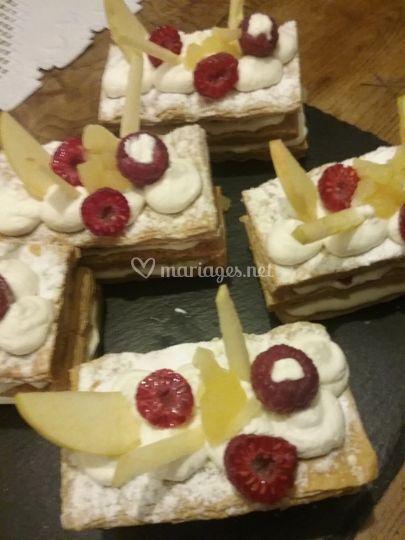 Proposition de dessert