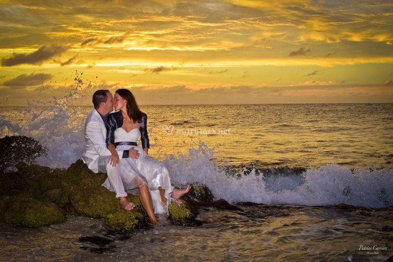 Trash the dress Caraïbes