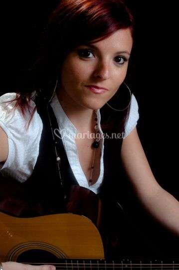 Shooting guitare