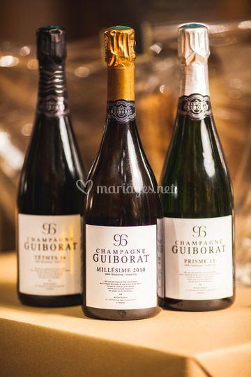 Champagnes de qualité